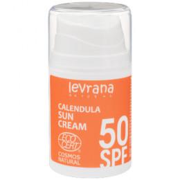 Крем солнцезащитный Календула SPF50 Levrana 50 мл