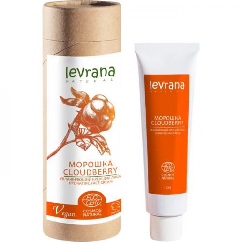 Увлажняющий крем для лица Levrana Морошка с экстрактом Гинкго Билоба 50 мл