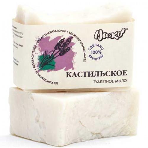 Мыло туалетное ручной работы Кастильское МиКо 75 г