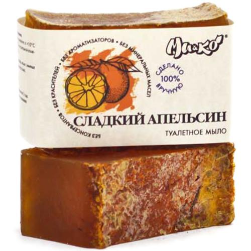 Туалетное мыло ручной работы Сладкий апельсин МиКо 75 г