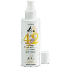 Спрей-кондиционер для непослушных волос Sativa №42 150 мл